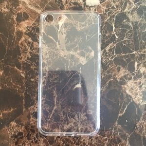 iPhone 7/8 Clear Silicone Case